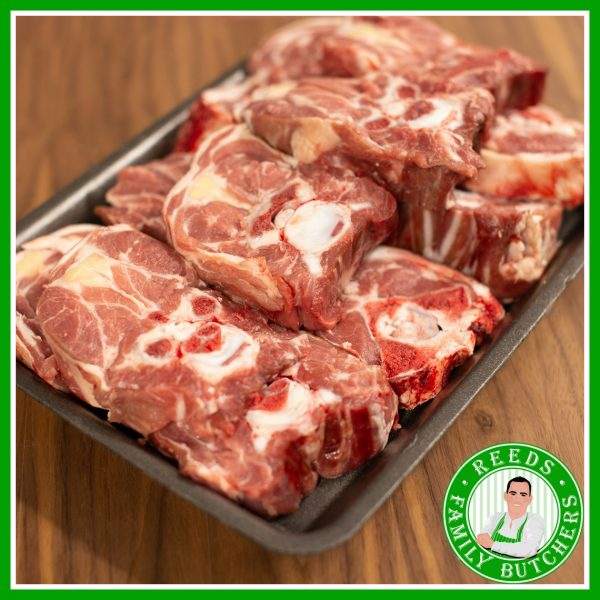 Buy a £10 tray of Neck of Lamb online from Reeds Family Butchers