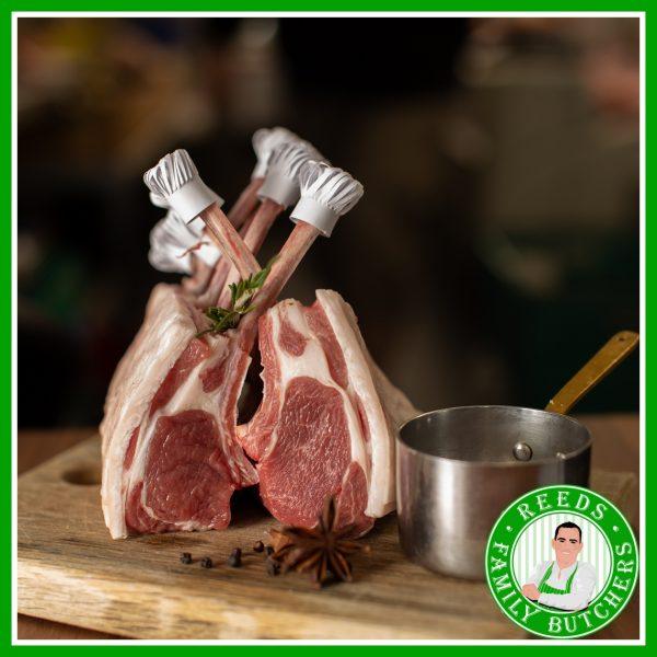 Buy Rack Of Lamb x 7 Bones online from Reeds Family Butchers