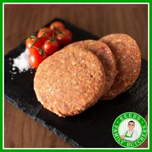 Buy Minted Lamb Burgers x 6 online from Reeds Family Butchers