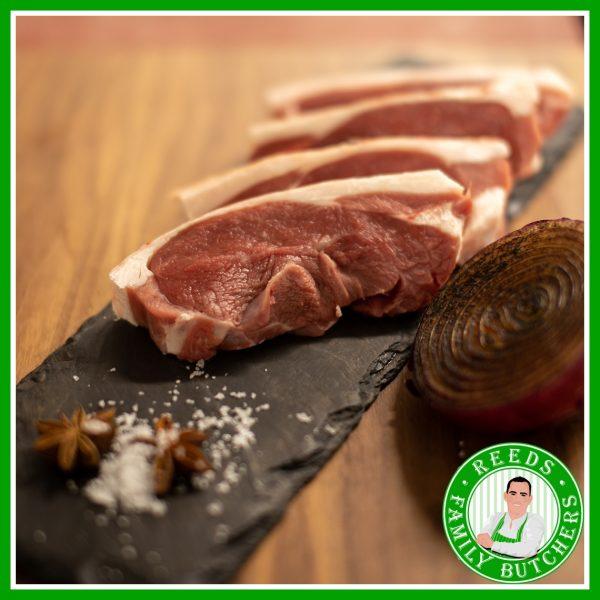Buy Boneless Lamb Steak x 4 online from Reeds Family Butchers