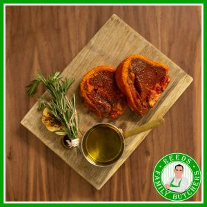 Buy Minted Single Lamb Chops x 4 online from Reeds Family Butchers