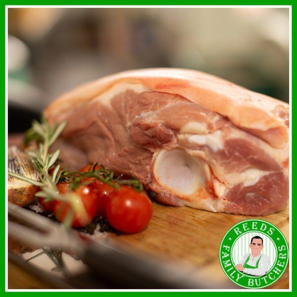 Buy Pork Blade Bone online from Reeds Family Butchers
