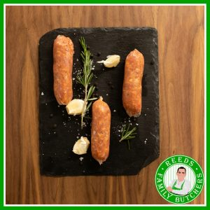 Buy Pork Italain Sundried Tomato Sausages - 8 Pack online from Reeds Family Butchers