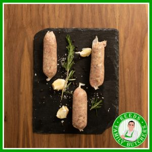 Buy Pork & Black Pepper Sausages - 8 Pack online from Reeds Family Butchers