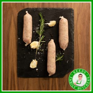 Buy Lincolnshire Pork Sausages - 8 Pack online from Reeds Family Butchers