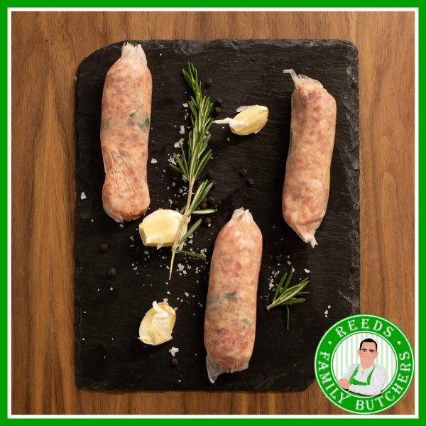 Buy Pork & Leek Sausages - 8 Pack online from Reeds Family Butchers