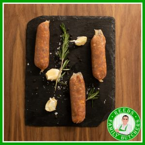 Buy Minted Lamb Sausages - 8 Pack online from Reeds Family Butchers