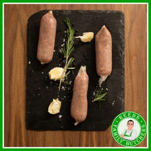 Buy Pork & Black Pudding Sausages - 8 Pack online from Reeds Family Butchers