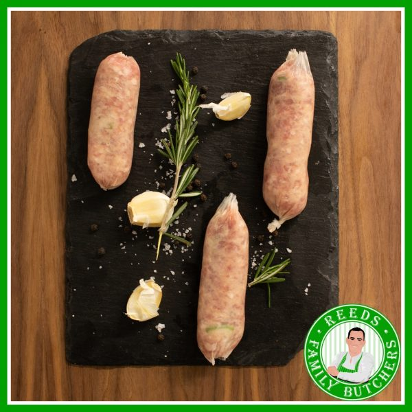 Buy Pork & Apple Sausages - 8 Pack online from Reeds Family Butchers