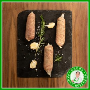 Buy Pork & Caramelised Onion Sausages - 8 Pack online from Reeds Family Butchers