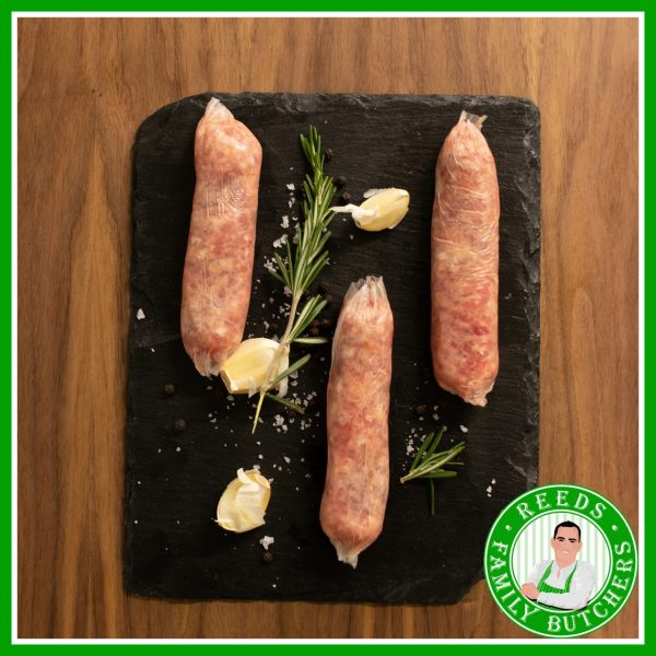 Buy Game Sausages - 8 Pack online from Reeds Family Butchers