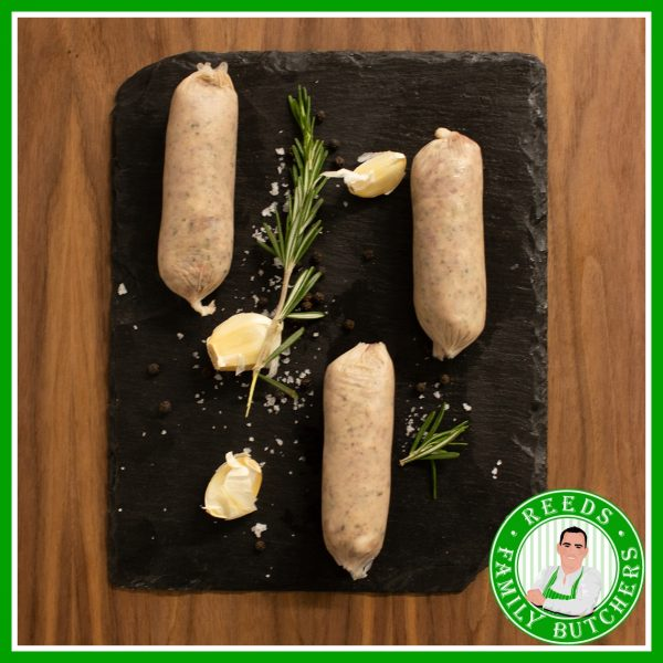 Buy Pork & Stilton Sausages - 8 Pack online from Reeds Family Butchers