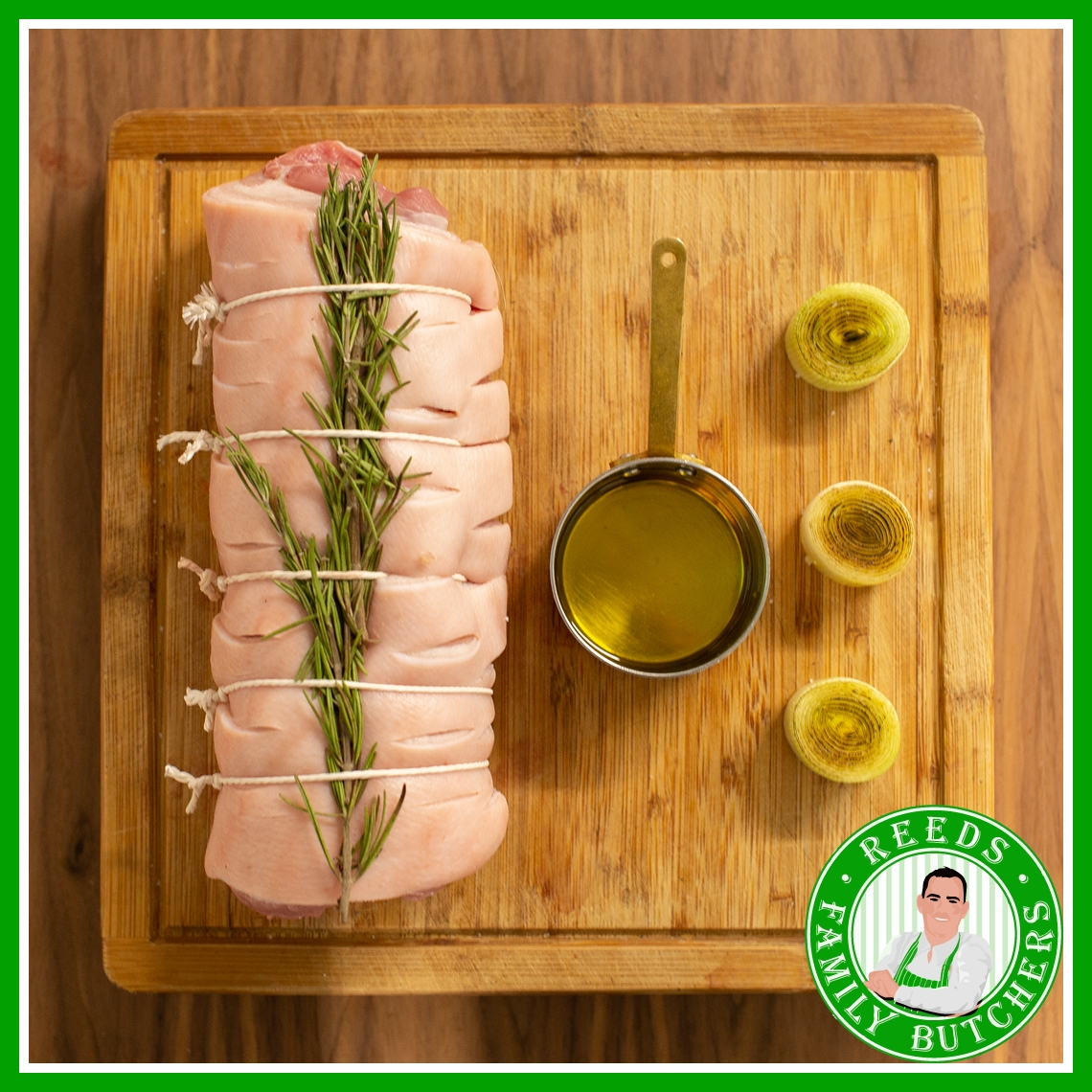 Buy Boned And Rolled Pork Belly online from Reeds Family Butchers