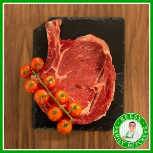 Buy Tomahawk Steak online from Reeds Family Butchers