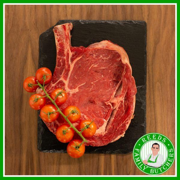 Buy Tomahawk Steak online from Reeds Family Butchers