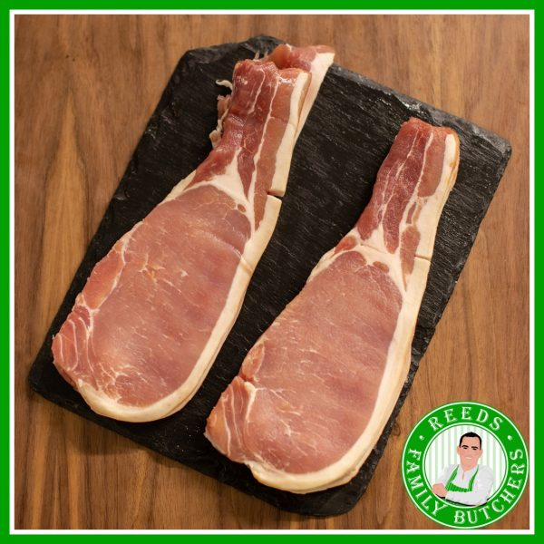 Buy Smoked Back Bacon - 8 Rashers online from Reeds Family Butchers