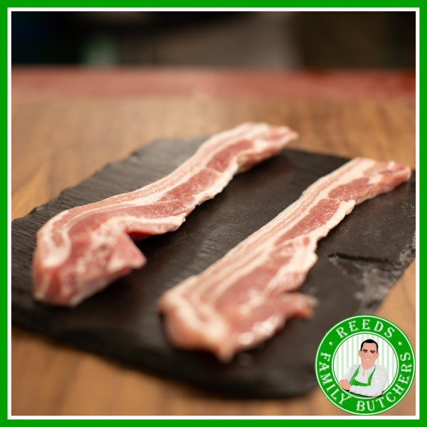 Buy Smoked Rindless Streaky Bacon - 8 Rashers online from Reeds Family Butchers