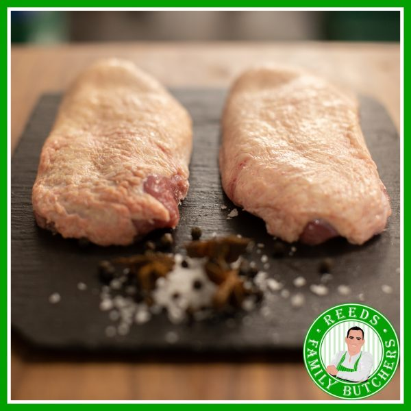 Buy Duck Breasts x 2 online from Reeds Family Butchers